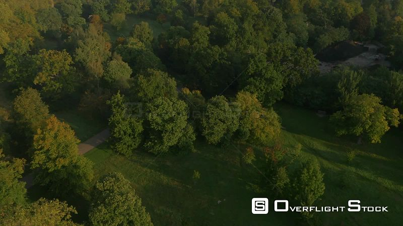 Drone Video of Hyde Park London England