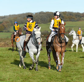 Bruce Langley McKim, Harry Macleod - The Melton Hunt Club Ride