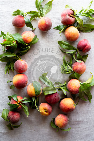 Farm fresh peaches