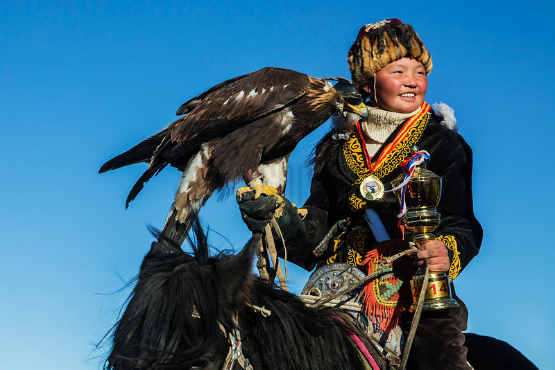 Aisha, the First Woman Eagle Hunter