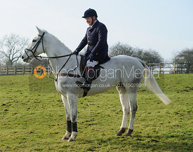 Charlie Gordon-Watson - The Cottesmore Hunt at Knossington 14/2