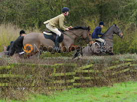 jumping a hedge from Town Park Farm