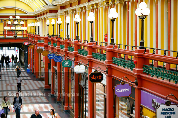 The Great Western Arcade, Birmingham, West Midlands,
