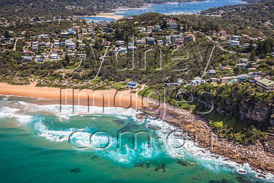 Bungan Beach Aerial Photography photos