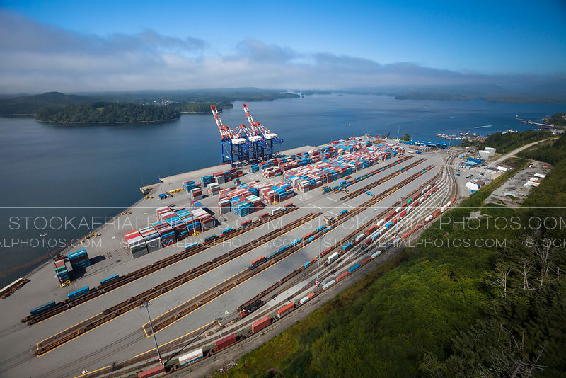 Fairview Container Terminal, British Columbia