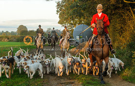 Robert Medcalf and the Cottesmore hounds
