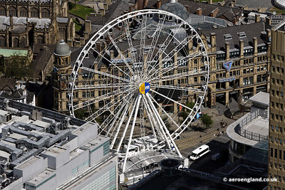 aerial photograph of the  Manchester Wheel