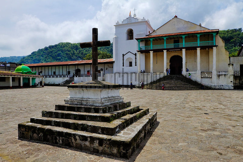The Main Square of Santiago Atitlan