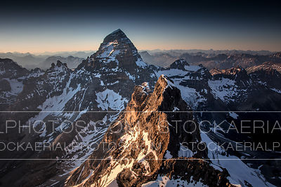 Aye Mountain and Mount Assiniboine