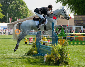 Mark Todd and NZB Land Vision - Show Jumping