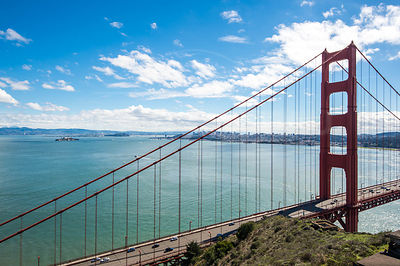 San Francisco depuis le Golden Gate recreation area