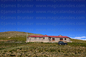 Community run tourist refuge near Pujzara, Cordillera de Sama Biological Reserve, Bolivia