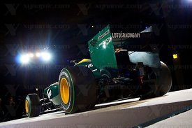 Lotus Cosworth T127 F1 Launch, Royal Horticultural Hall, London, GBR