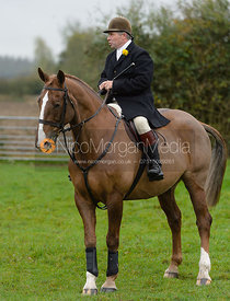 Graham Smith at the meet - Quorn Hunt Opening Meet 20/3