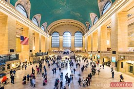 Interior of Grand Central station, New York city, USA