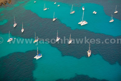 Boats, Menorca, Spain