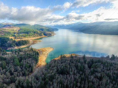 Oregon Lake Landscape