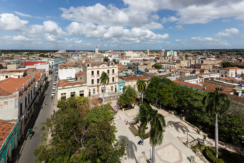 Elevated View of the Center of Camaguey from the Cathedral de la Nuestra Señora de Soledad