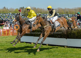John Russell, Joanna Hewitt - The Pytchley Point-to-point 2017