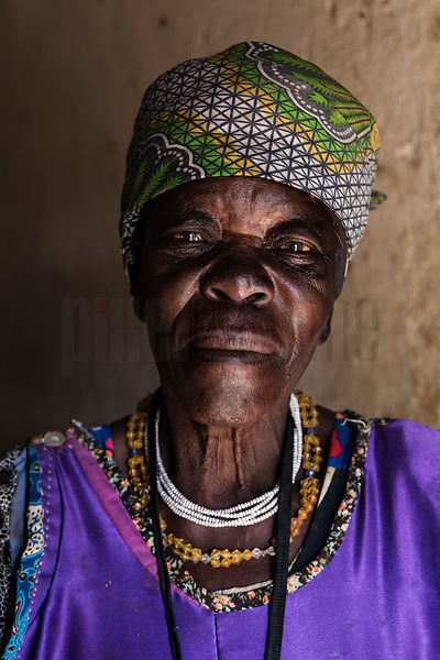 Portrait of a Damara Woman