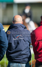 French Supporters - dressage phase,  Land Rover Burghley Horse Trials, 30th August 2012.