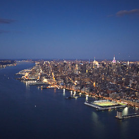 New York Harbor | Rivers aerial pictures