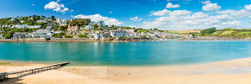 BP6515B- Panoramic view of Salcombe from East Portlemouth