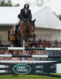 - show jumping phase,  Land Rover Burghley Horse Trials, 2nd September 2012.