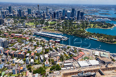 Potts Point and Woolloomooloo Bay