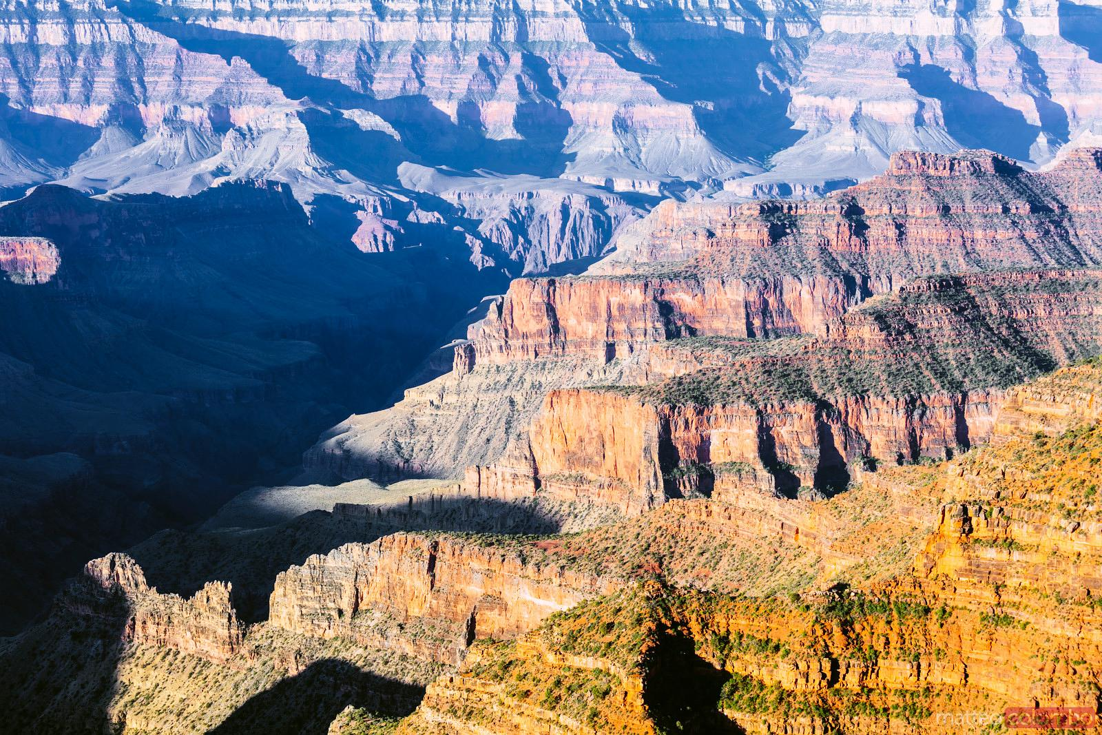 Matteo Colombo Travel Photography | Full frame image of Grand Canyon ...