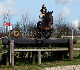 Mollie Jebb and ISHD Countdown, Oasby Horse Trials 2011