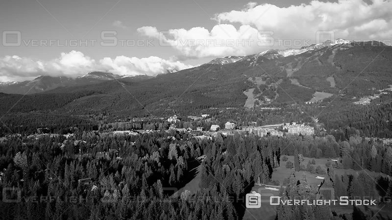 Summer at Whistler and Village Ski Resort BC Canada