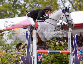 Tim Lips and KEYFLOW NOP - Show Jumping phase, Mitsubishi Motors Badminton Horse Trials 2014