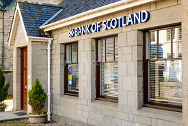 Bank of Scotland branch