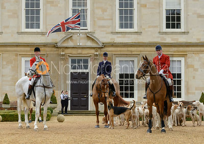 The Cottesmore Hunt at Stapleford Park 28/2 photos