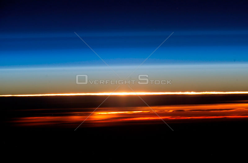 EARTH -- Sunset (or sunrise!) as viewed from the International Space Station