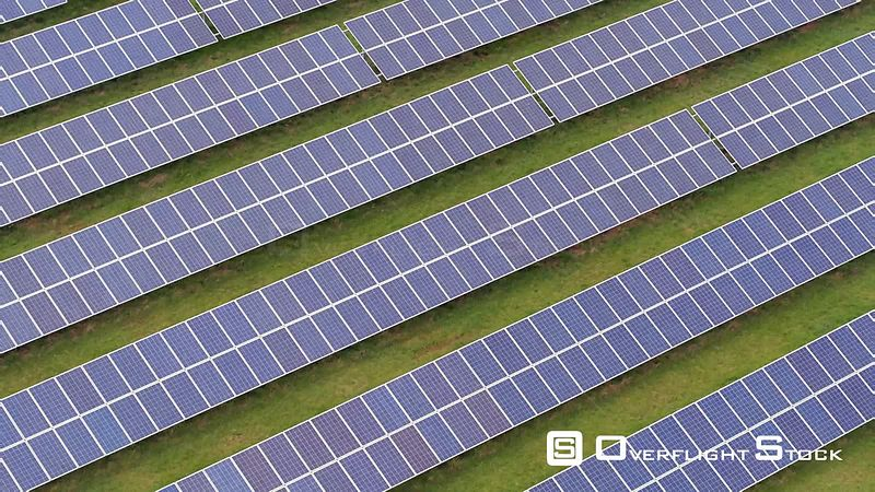 Large Clean Energy Solar Cell Array UK