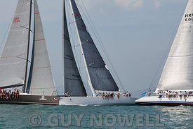 St Regis China Coast Regatta 2013 -  Race day 1 - IRC 0 start