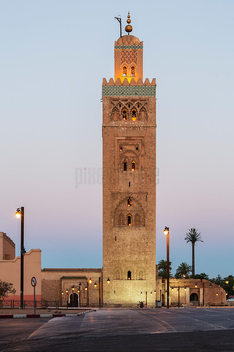 Kotoubia Mosque at Sunrise