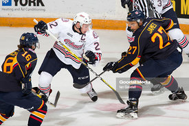 Oshawa Generals vs Barie Colts on October 9, 2016