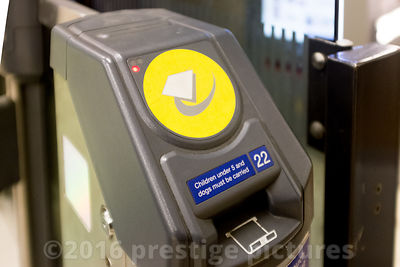 Faregate Ticket Barrier on the London Underground