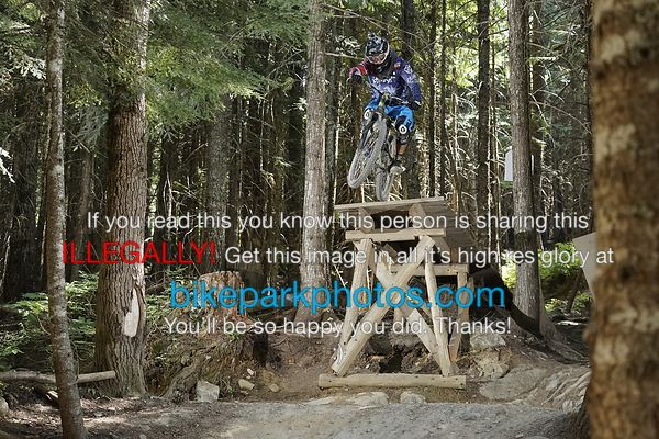 Wednesday July 25th Fade To Black bike park photos