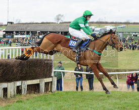 Fred Henderson and SAY NO - Novice Riders - Cottesmore at Garthorpe
