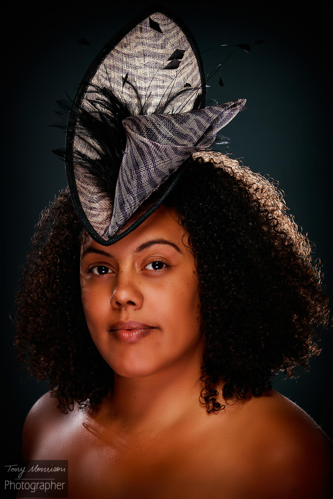 Great fun shooting #Millinery Portraits with #kerrykernan.co.uk & the beautiful KM  #hat #portrait #photo #photograph