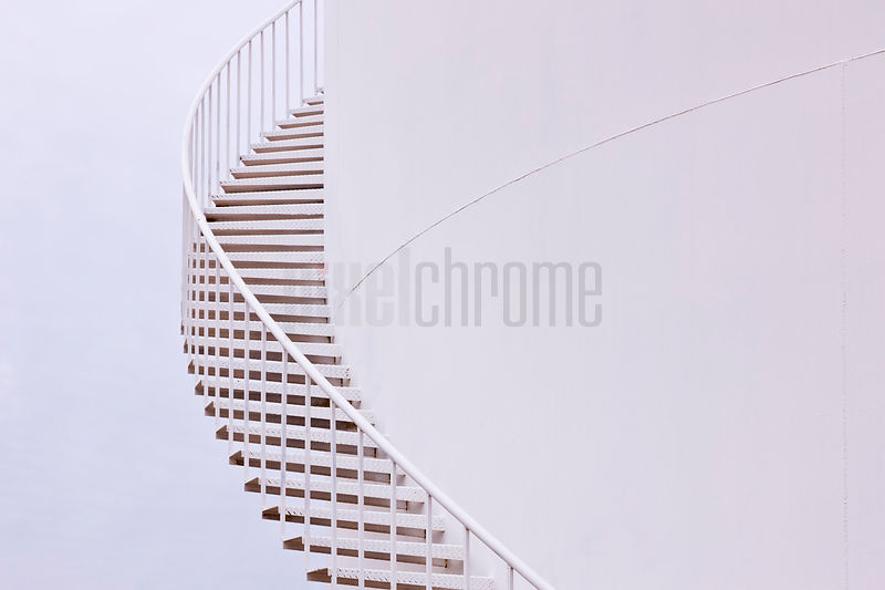 Stairs on Side of Water Tank