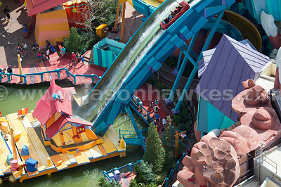 Dudley Do-Right's Ripsaw Falls is a log flume ride at the Universal Orlando theme park.