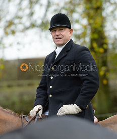 James Mossman at the meet - Cottesmore Hunt Opening Meet, 24/10/2017