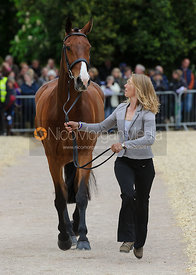 Louisa Lockwood and BALLYFARRIS FLIGHT - First Horse Inspection, Mitsubishi Motors Badminton Horse Trials 2014