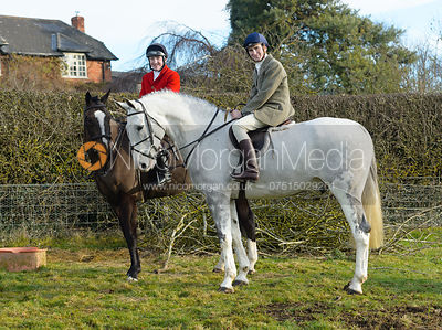 The Cottesmore Hunt at Hill Top Farm 19/12 photos