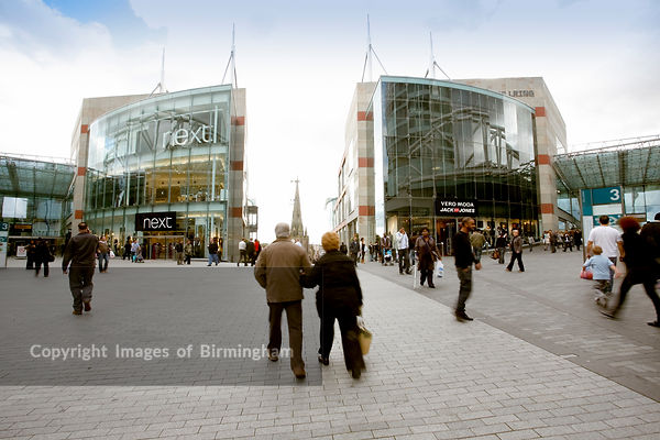 The Bullring Shopping Centre.